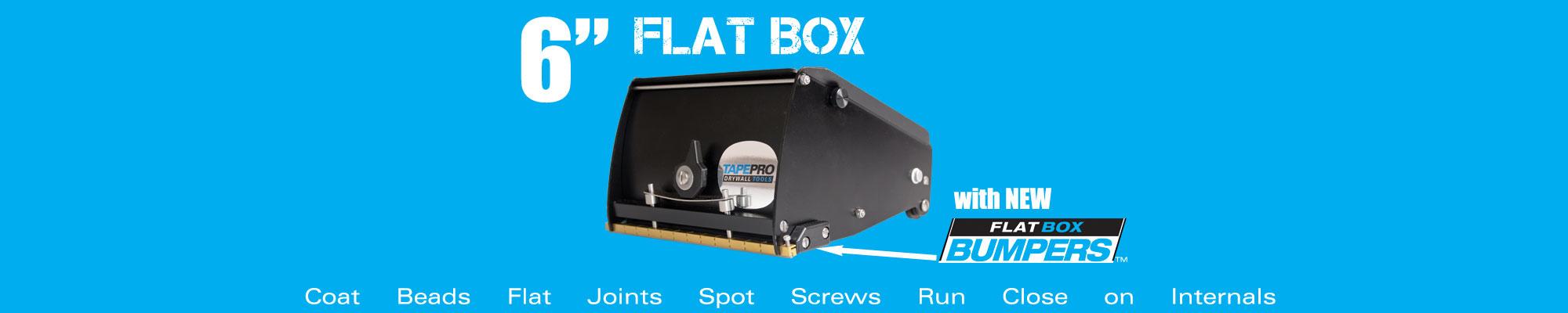 "6"" Flat Box Banner"