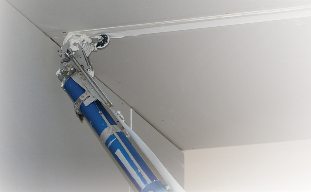 Auto Taper on ceiling