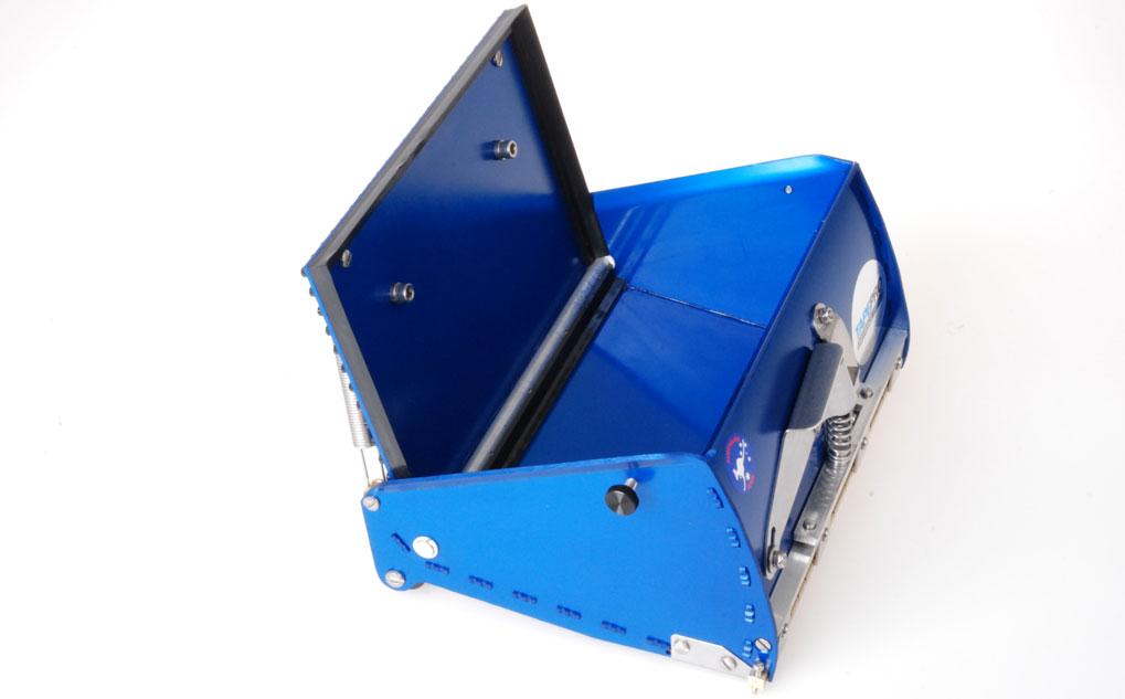 Blue2 Flat Box open